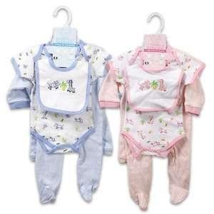 Baby Layette Set, 5 Piece, 3 6 Months   Pink Baby
