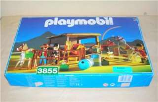Playmobil Large 3855 HORSE CHAMPIONS STABLE   Western, Farm, City