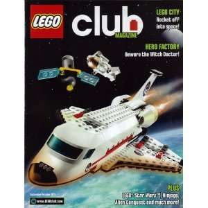 LEGO Club Magazine September October 2011: LEGO: Books