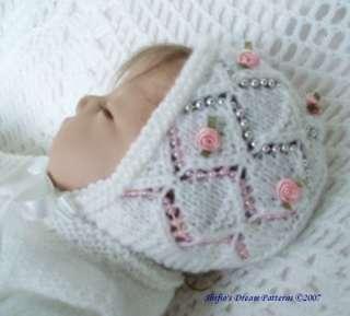 BABY MATINEE KNITTING PATTERN #73 by ShiFios Patterns