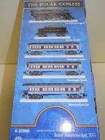 NEW 2011 Lionel Polar Express O Gauge Locomotive Train Set 6 31960