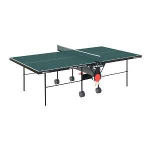 TR21 Personal Rollaway Table Tennis Table (Green)