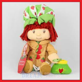 10.5 Strawberry Shortcake Brown Plush Doll   Figure S