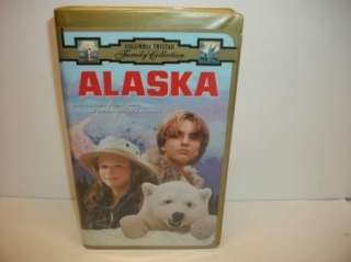 Alaska   VHS polar bear movie tape   Thora Birch, Charlton Heston