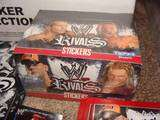 TOPPS WWE WRESTLING STICKERS SEALED BOX 50 PACK + ALBUM